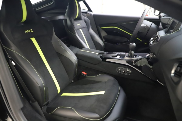New 2020 Aston Martin Vantage AMR Coupe for sale $191,931 at Maserati of Greenwich in Greenwich CT 06830 19