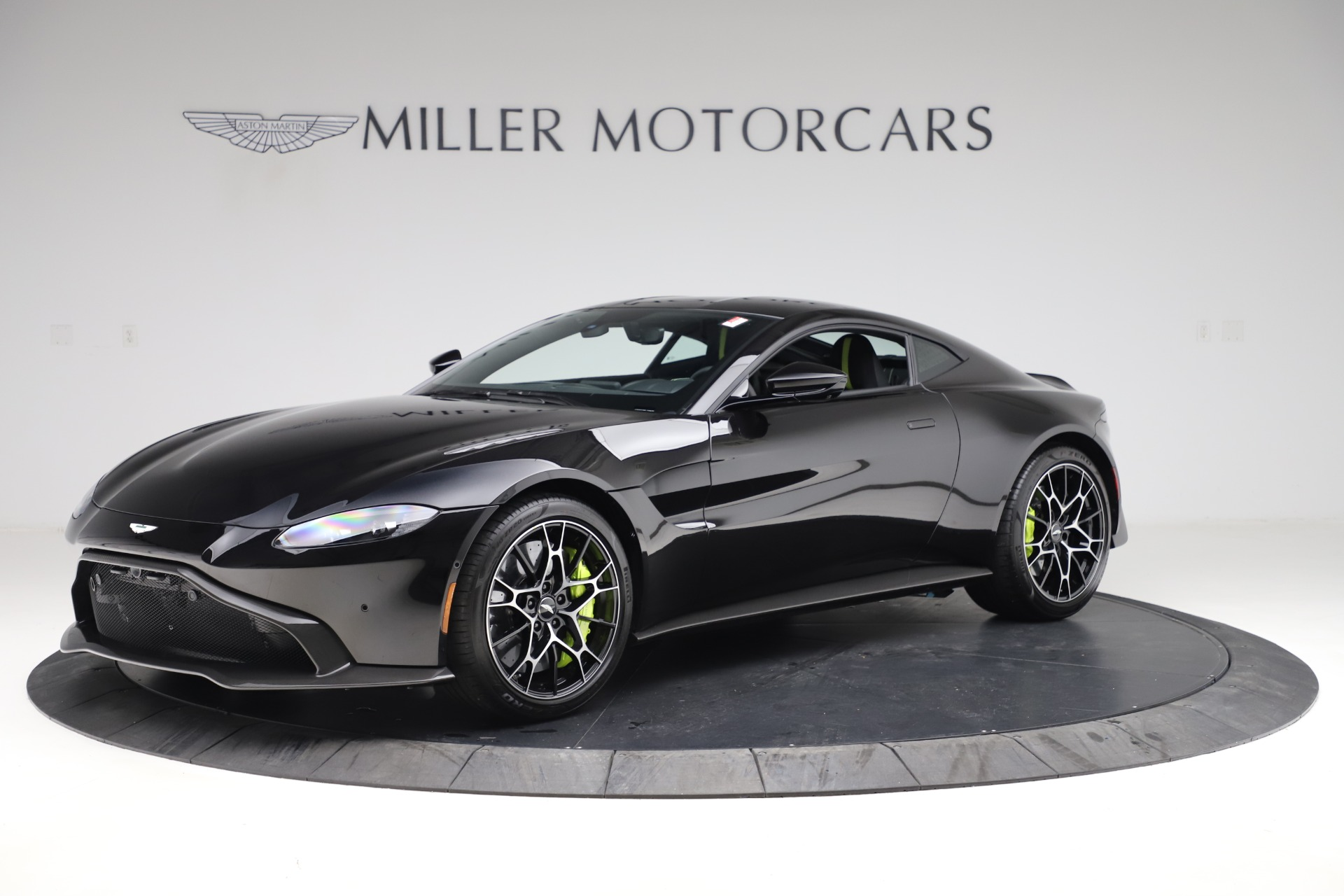 New 2020 Aston Martin Vantage AMR Coupe for sale $191,931 at Maserati of Greenwich in Greenwich CT 06830 1