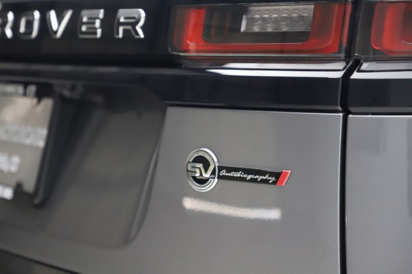 Used 2020 Land Rover Range Rover Velar SVAutobiography Dynamic Edition for sale Sold at Maserati of Greenwich in Greenwich CT 06830 28