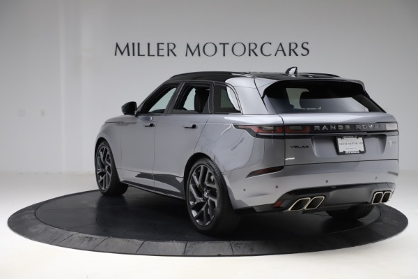 Used 2020 Land Rover Range Rover Velar SVAutobiography Dynamic Edition for sale Sold at Maserati of Greenwich in Greenwich CT 06830 5