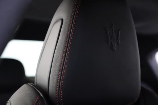 New 2020 Maserati Ghibli S Q4 GranSport for sale $88,285 at Maserati of Greenwich in Greenwich CT 06830 27