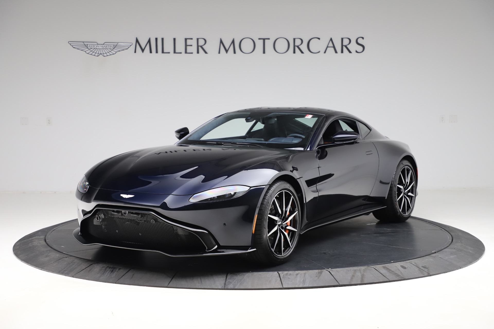 New 2020 Aston Martin Vantage Coupe for sale $195,681 at Maserati of Greenwich in Greenwich CT 06830 1