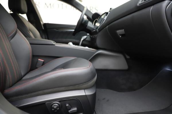New 2019 Maserati Ghibli S Q4 GranLusso for sale Sold at Maserati of Greenwich in Greenwich CT 06830 23