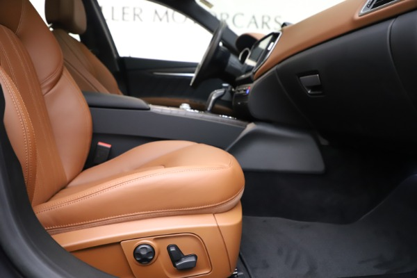 New 2019 Maserati Ghibli S Q4 GranLusso for sale $98,095 at Maserati of Greenwich in Greenwich CT 06830 23