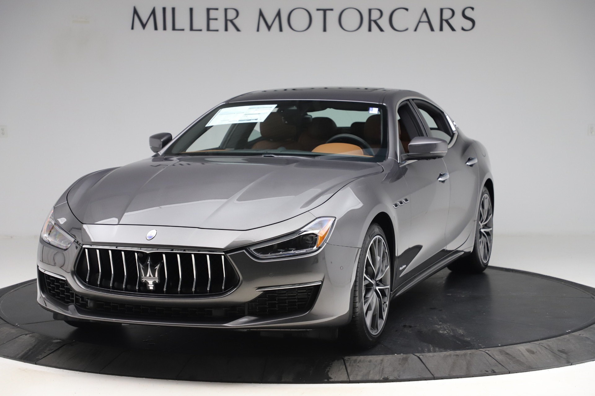 New 2019 Maserati Ghibli S Q4 GranLusso for sale $98,095 at Maserati of Greenwich in Greenwich CT 06830 1