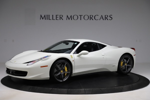 Used 2013 Ferrari 458 Italia for sale Sold at Maserati of Greenwich in Greenwich CT 06830 2