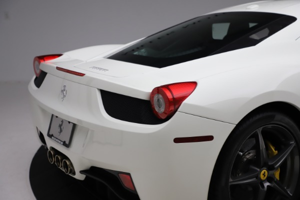 Used 2013 Ferrari 458 Italia for sale Sold at Maserati of Greenwich in Greenwich CT 06830 26