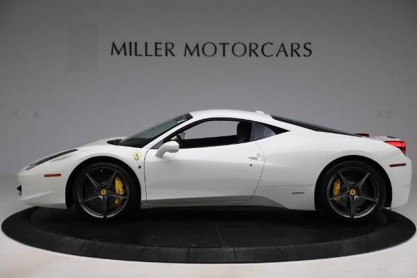 Used 2013 Ferrari 458 Italia for sale Sold at Maserati of Greenwich in Greenwich CT 06830 3