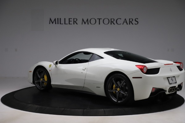 Used 2013 Ferrari 458 Italia for sale Sold at Maserati of Greenwich in Greenwich CT 06830 4