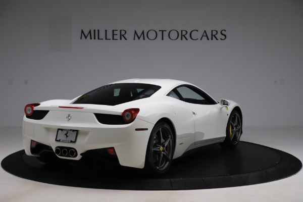 Used 2013 Ferrari 458 Italia for sale Sold at Maserati of Greenwich in Greenwich CT 06830 7