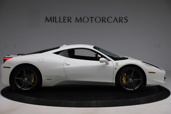 Used 2013 Ferrari 458 Italia for sale Sold at Maserati of Greenwich in Greenwich CT 06830 9