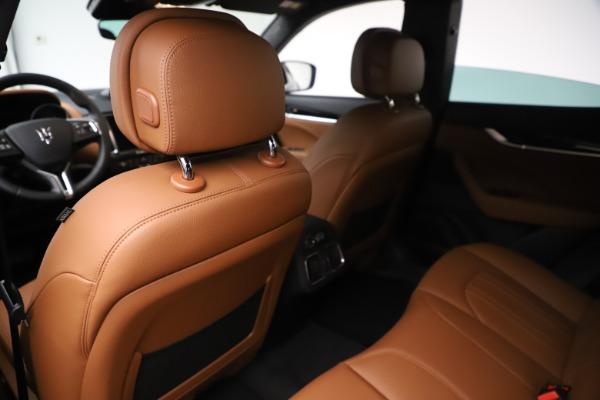 New 2020 Maserati Levante Q4 for sale Sold at Maserati of Greenwich in Greenwich CT 06830 20