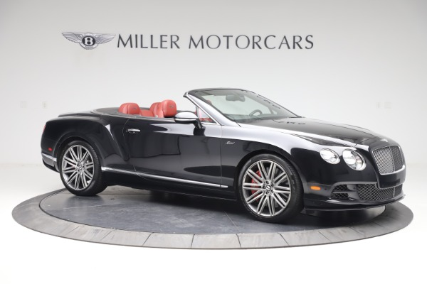 Used 2015 Bentley Continental GTC Speed for sale $129,900 at Maserati of Greenwich in Greenwich CT 06830 11