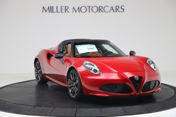 New 2020 Alfa Romeo 4C Spider for sale $82,395 at Maserati of Greenwich in Greenwich CT 06830 11