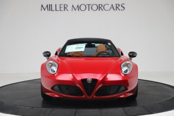 New 2020 Alfa Romeo 4C Spider for sale $82,395 at Maserati of Greenwich in Greenwich CT 06830 12