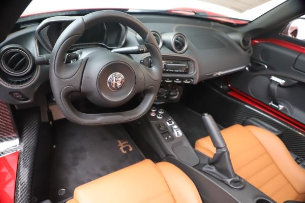 New 2020 Alfa Romeo 4C Spider for sale $82,395 at Maserati of Greenwich in Greenwich CT 06830 19