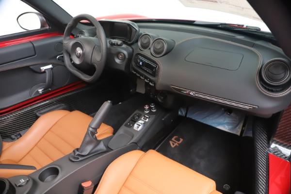 New 2020 Alfa Romeo 4C Spider for sale $82,395 at Maserati of Greenwich in Greenwich CT 06830 23