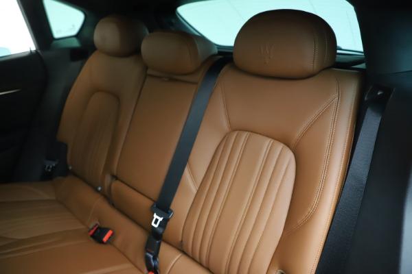 New 2020 Maserati Levante Q4 GranLusso for sale $86,935 at Maserati of Greenwich in Greenwich CT 06830 18