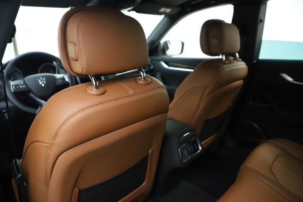 New 2020 Maserati Levante Q4 GranLusso for sale $86,935 at Maserati of Greenwich in Greenwich CT 06830 20