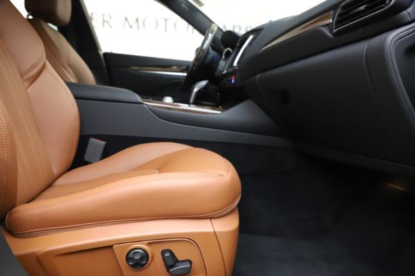 New 2020 Maserati Levante Q4 GranLusso for sale $86,935 at Maserati of Greenwich in Greenwich CT 06830 23