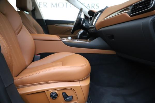 New 2020 Maserati Levante Q4 GranLusso for sale $87,335 at Maserati of Greenwich in Greenwich CT 06830 23