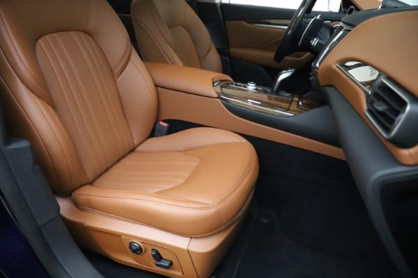 New 2020 Maserati Levante Q4 GranLusso for sale $87,335 at Maserati of Greenwich in Greenwich CT 06830 24