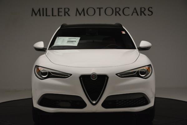 New 2019 Alfa Romeo Stelvio Ti Sport Q4 for sale $54,340 at Maserati of Greenwich in Greenwich CT 06830 12