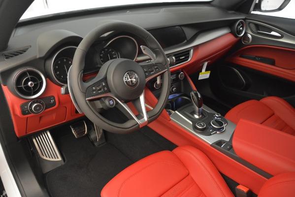 New 2019 Alfa Romeo Stelvio Ti Sport Q4 for sale $54,340 at Maserati of Greenwich in Greenwich CT 06830 13