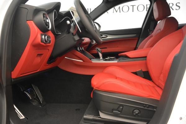 New 2019 Alfa Romeo Stelvio Ti Sport Q4 for sale $54,340 at Maserati of Greenwich in Greenwich CT 06830 14