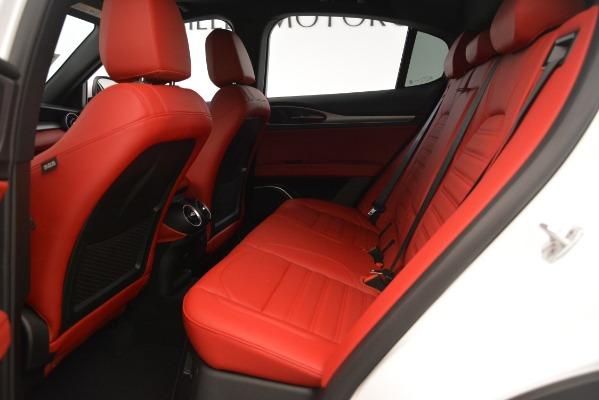 New 2019 Alfa Romeo Stelvio Ti Sport Q4 for sale $54,340 at Maserati of Greenwich in Greenwich CT 06830 19