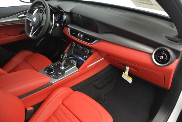New 2019 Alfa Romeo Stelvio Ti Sport Q4 for sale $54,340 at Maserati of Greenwich in Greenwich CT 06830 22