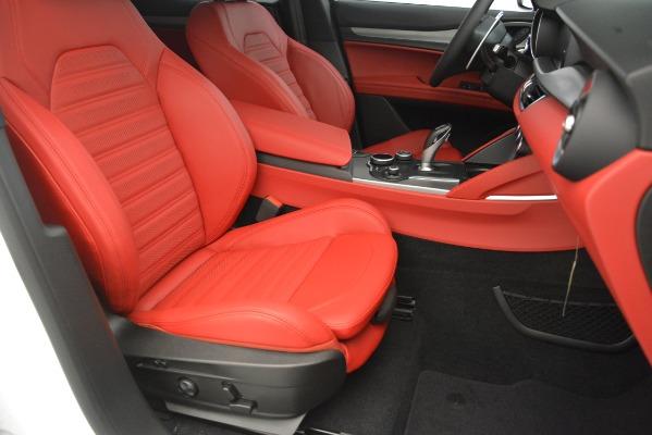 New 2019 Alfa Romeo Stelvio Ti Sport Q4 for sale $54,340 at Maserati of Greenwich in Greenwich CT 06830 24