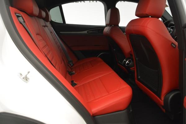 New 2019 Alfa Romeo Stelvio Ti Sport Q4 for sale $54,340 at Maserati of Greenwich in Greenwich CT 06830 27