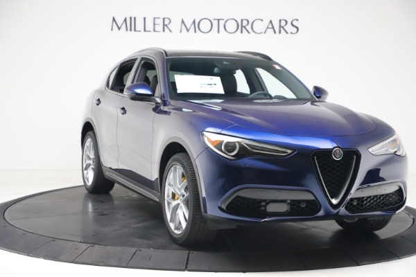 New 2019 Alfa Romeo Stelvio Ti Sport Q4 for sale $56,690 at Maserati of Greenwich in Greenwich CT 06830 11
