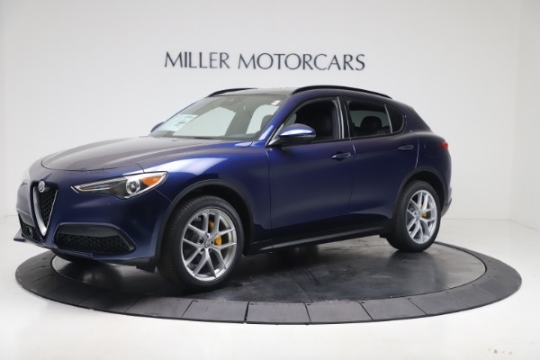 New 2019 Alfa Romeo Stelvio Ti Sport Q4 for sale $56,690 at Maserati of Greenwich in Greenwich CT 06830 2
