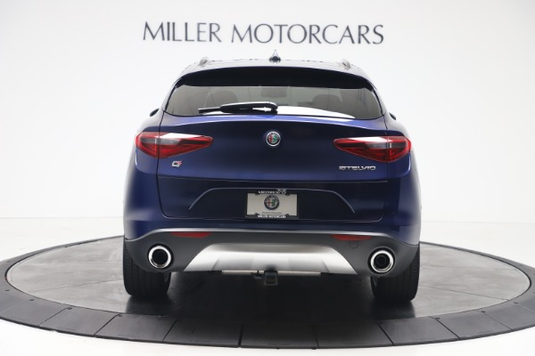 New 2019 Alfa Romeo Stelvio Ti Sport Q4 for sale $56,690 at Maserati of Greenwich in Greenwich CT 06830 6
