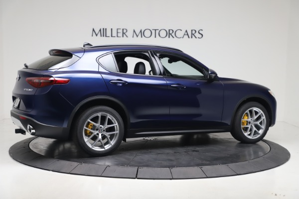 New 2019 Alfa Romeo Stelvio Ti Sport Q4 for sale $56,690 at Maserati of Greenwich in Greenwich CT 06830 8