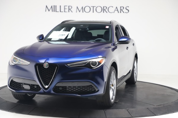 New 2019 Alfa Romeo Stelvio Ti Sport Q4 for sale $56,690 at Maserati of Greenwich in Greenwich CT 06830 1