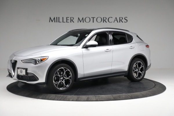 New 2019 Alfa Romeo Stelvio Ti Sport Q4 for sale $52,640 at Maserati of Greenwich in Greenwich CT 06830 2