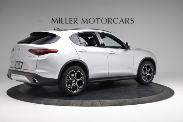 New 2019 Alfa Romeo Stelvio Ti Sport Q4 for sale $52,640 at Maserati of Greenwich in Greenwich CT 06830 8