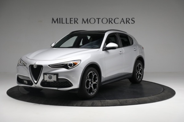 New 2019 Alfa Romeo Stelvio Ti Sport Q4 for sale $52,640 at Maserati of Greenwich in Greenwich CT 06830 1