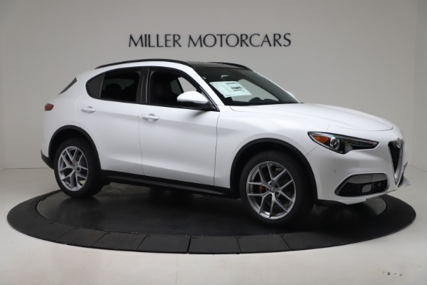 New 2019 Alfa Romeo Stelvio Ti Sport Q4 for sale $52,140 at Maserati of Greenwich in Greenwich CT 06830 10