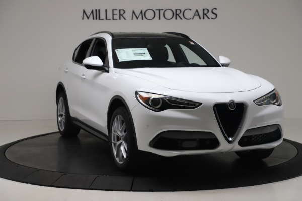 New 2019 Alfa Romeo Stelvio Ti Sport Q4 for sale $52,140 at Maserati of Greenwich in Greenwich CT 06830 11