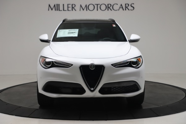 New 2019 Alfa Romeo Stelvio Ti Sport Q4 for sale $52,140 at Maserati of Greenwich in Greenwich CT 06830 12