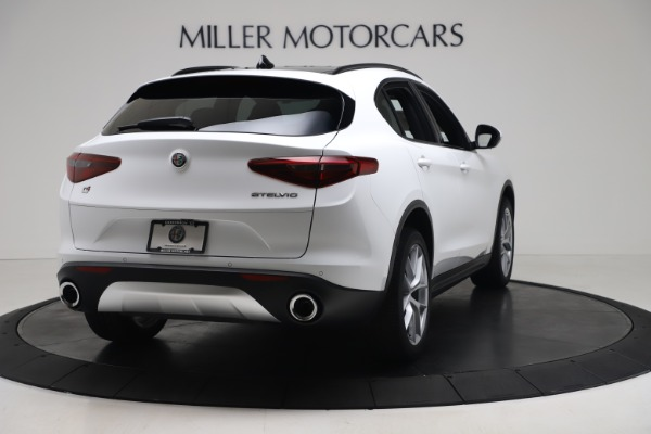 New 2019 Alfa Romeo Stelvio Ti Sport Q4 for sale $52,140 at Maserati of Greenwich in Greenwich CT 06830 7