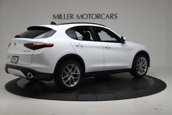 New 2019 Alfa Romeo Stelvio Ti Sport Q4 for sale $52,140 at Maserati of Greenwich in Greenwich CT 06830 8
