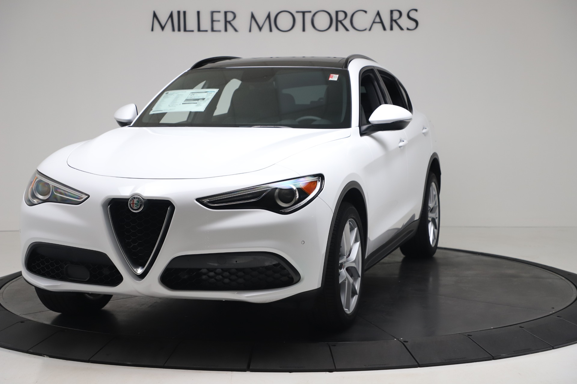 New 2019 Alfa Romeo Stelvio Ti Sport Q4 for sale $52,140 at Maserati of Greenwich in Greenwich CT 06830 1