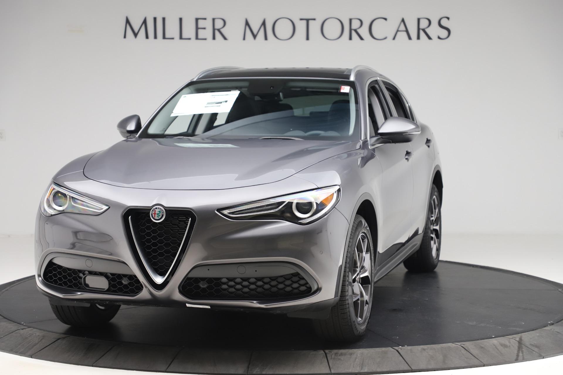 New 2019 Alfa Romeo Stelvio Ti Q4 for sale $51,090 at Maserati of Greenwich in Greenwich CT 06830 1