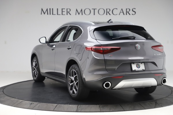 New 2019 Alfa Romeo Stelvio Ti Q4 for sale $51,090 at Maserati of Greenwich in Greenwich CT 06830 5