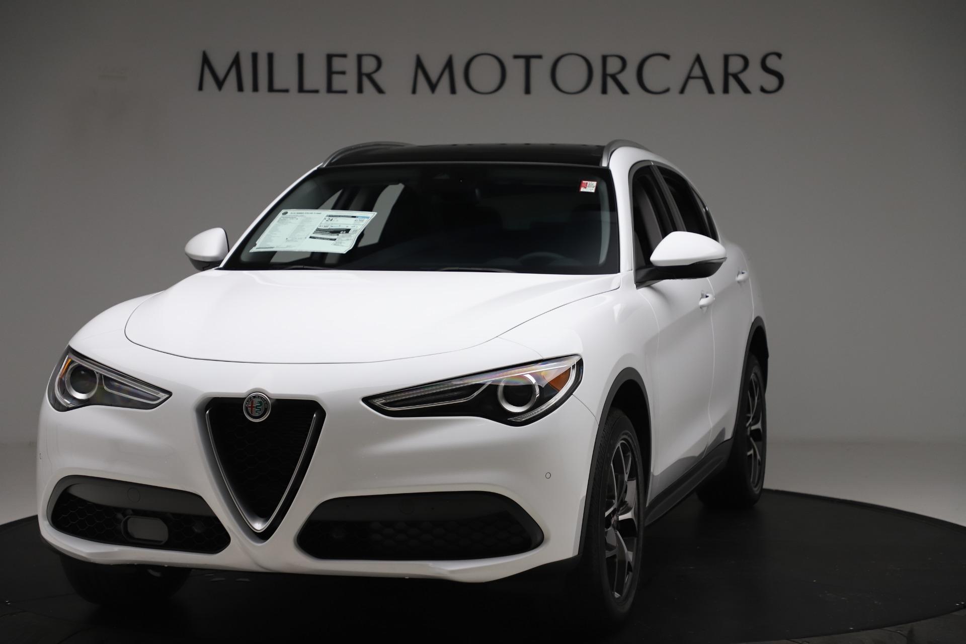 New 2019 Alfa Romeo Stelvio Ti Q4 for sale $51,490 at Maserati of Greenwich in Greenwich CT 06830 1